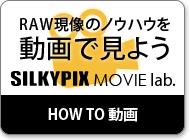 現像テクニックを動画で見せます「SILKYPIX Movie lab.」